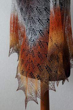 Artistic wool laceweight art wool rustic colors Longstriped