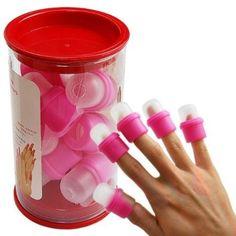 wearable nail art soakers Ongle acrylic removal and perfect for removing glitter nail polish So Nails, How To Do Nails, Cute Nails, Pretty Nails, Hair And Nails, Funky Nails, Beauty Nails, Hair Beauty, Nail Polish