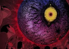 Ghroth resembles a small, rust-colored planet or m Junji Ito, Call Of Cthulhu, Witch House, Old Ones, Dark Ages, Deities, Manga Art, Creepy, Planets