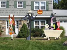 nightmare before christmas halloween yard art candaces yard art this photo was uploaded by bradyurk halloween lawn decorations halloween yard art yard