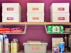 Melissa George of Polished Habitat shares her best storage hacks and favorite organization products with HGTV.com.