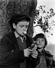Jem & Scout ... maybe my favorite movie ever! To Kill A Mockingbird