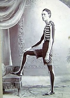 Anonymous Works: Circa 1900 Cabinet Card of Man in Skeleton Outfit