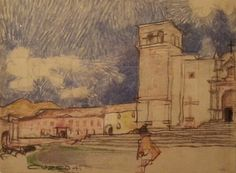 Richard Neutra sketch