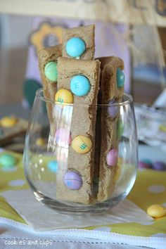 Simple Cookie Sticks! You can make them in just a few minutes and they are perfect for dunking!!