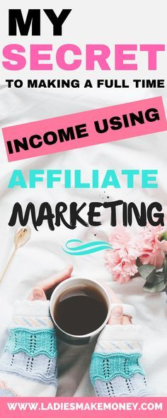 How to make a full time income blogging using Affiliate marketing. Make money blogging for beginners using Affiliate Marketing. How to make money blogging fast and easy. Here are great ideas to make money working from home. How to make passive income on your blog using Affiliate marketing. Making money online for bloggers. Beginners tip on how to make money with your blog using Affiliate Marketing. High paying Affiliate marketing programs. Affiliate marketing programs for bloggers...