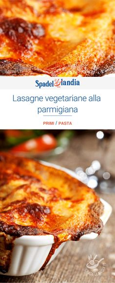 Lasagne vegetariane alla parmigiana Fett, Macaroni And Cheese, Pizza, Ethnic Recipes, Kitchen, Cucina, Cooking, Mac And Cheese, Kitchens