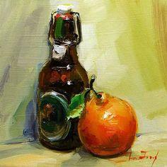 "Daily Paintworks - ""Still life"" - Original Fine Art for Sale - © Jurij Frey"