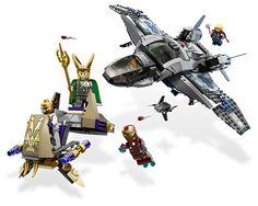 The Avengers LEGO Sets