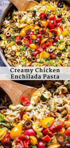 Yummy Pasta Recipes, Dinner Recipes Easy Quick, Easy Weeknight Dinners, Healthy Dinner Recipes, Mexican Food Recipes, Easy Meals, Mexican Dinners, Noodle Recipes, Turkey Recipes