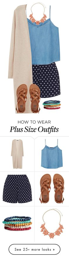 """""""I really love the plus size option when creating sets """" by joannakirk on Polyvore featuring Zizzi, Violeta by Mango, Dorothy Perkins and Billabong"""