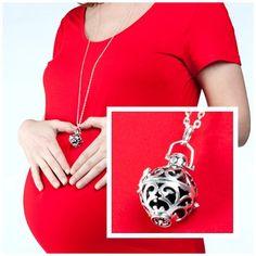 Silver Pregnancy Maternity Necklace Mexican by Harmonyballcompany, £24.99