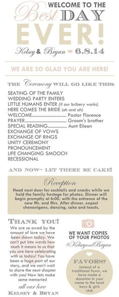 Make It the Best Day Ever: Wedding Infographics for All You Need to Know ...