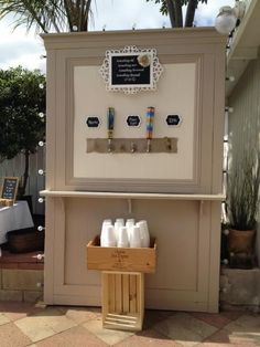 Beer Wall for Wedding | Do It Yourself Home Projects from Ana White