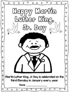 These are a couple of freebies from my MLK Jr Unit. Enjoy!