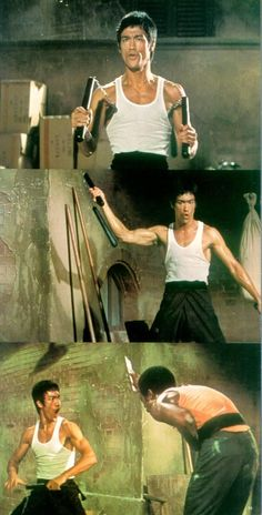 "Back alley scenes from ""Return of the Dragon"""