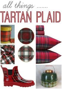 I remember loving Tartan Plaid since I was a girl. I think I was the only 1st grader with a red tartan plaid metal lunch box.Oh what I'd do to have that lunch pail now. Plaid is classic, it's never...