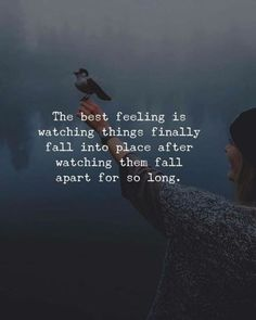 The best feeling is watching things finally fall into place.. —via http://ift.tt/2eY7hg4
