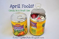 April Fools - neat for packed lunch