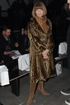 Anna Wintour Front Row at Alexander Wang