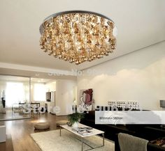 Modern Crystal Ceiling Light Fixture Glass Cup Ceiling Light Lighting Guaranteed 100%+Free shipping!