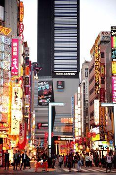 Shinjuku at roughly 5am
