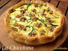 Sfogliata con brie, zucchine e noci #ricette #food #recipes