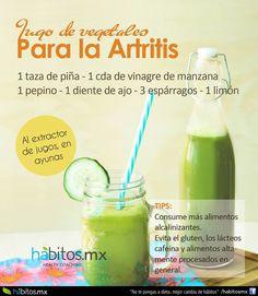 Hábitos Health Coaching | JUGO DE VEGETALES PARA LA ARTRITIS