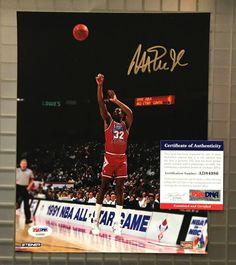 Magic Johnson  32 Signed Los Angeles Lakers Jersey Sz XL JSA WITNESSED COA  HOF  Basketball  ad7024a32
