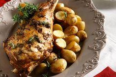 Lamb on twigs Αρνάκι στις κληματόβεργες, στο φούρνο του σπιτιού - Συνταγές | γαστρονόμος