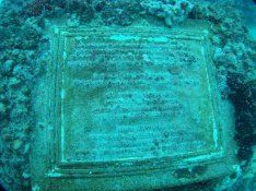 Neptune Memorial Reef, Miami, Florida. Cementerio submarino.