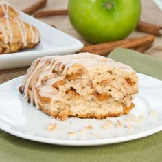 Apple Fritter Scones {Sweet Pea's Kitchen}