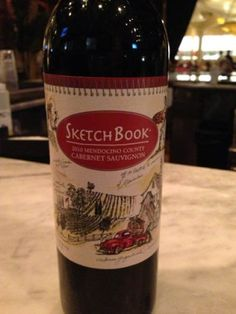 2010 Sketchbook Cabernet Sauvignon - full-bodied velvety wine with good balance and a long fruity finish. Great for pairing with red-sauced pastas. Rating; 4/5