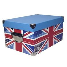 Union Jack Rectangular Storage Box | Dunelm What every teenager needs - the floor is not  sc 1 st  Pinterest & Union Jack Heart Bordered Red Flat Woven Rug | THE COSMOPOLITAN ...