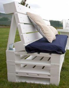 Why Teak Outdoor Garden Furniture? Pallet Bank, Pallet Lounge, Diy Pallet Sofa, Pallet Headboards, Pallet Benches, Pallet Tables, Outdoor Pallet, 1001 Pallets, Recycled Pallets