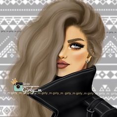 Image about cute in ♕★Girly_M★♕ by ℋ ℴ ℘ ℯ l ℯ હ હ Girl M, Girly Girl, Girly M Instagram, Sarra Art, Girly Drawings, Cute Girl Wallpaper, Girl Sketch, Digital Art Girl, Beautiful Drawings