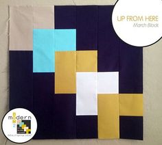 "All-New Modern Block of the Month (BOM) Sew-Along: March ""Up From Here"" Block « Alyssa Lichner for Sew,Mama,Sew!"