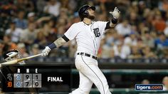 Photo: Jarrod Saltalamacchia's go-ahead homer and Justin Upton's solo shot propel the Tigers past the White Sox. http://atmlb.com/2cnsIe8