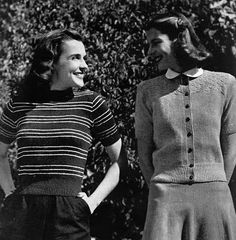 The Vintage Pattern Files: 1940's Knitting - Jack Frost Blouse Book Vol 42