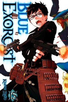 Blue Exorcist Volume 15 Cover