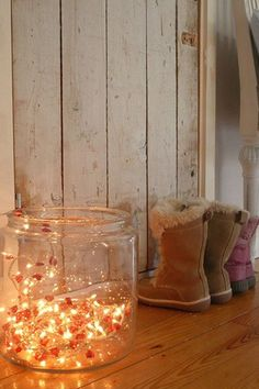 20 Ideas How To Decorate With Christmas Lights