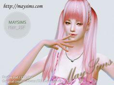 Mayims: Sims 4 Hair - May_TS4_Hair35F