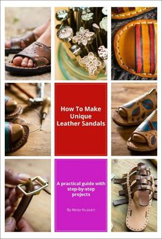 Ebook How to make leather sandals