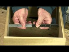 Measure, Mark and Cut Parts Easily and Accurately - YouTube