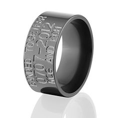 DuckBandBrands custom wedding band with 3D duck call Have the