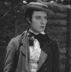 """Buster Keaton in """"Our Hospitality"""" (1923)"""