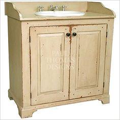 Website Picture Gallery Savannah Vintage Country Cottage Bathroom Vanity