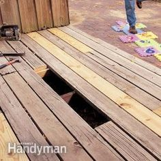 Has your deck seen better days? Don't build a new one if all you really need to do is replace a few deck boards!