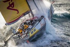Sail World - Volvo Ocean Race - Battered but unbroken... Southern Ocean
