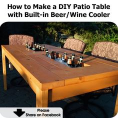 build your own pub table